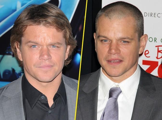 Matt Damon : vous le préférez avec ou sans cheveux ?