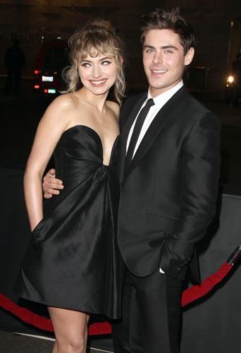 Imogen Poots et Zac Efron à Los Angeles le 27 janvier 2014