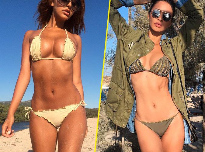 Photos : Zahia Dehar VS Leila Ben Khalifa : Qui a le plus beau bikini body ?