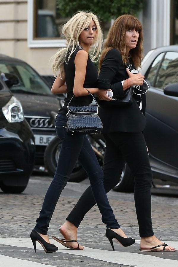 Zahia à Paris le 15 septembre 2012