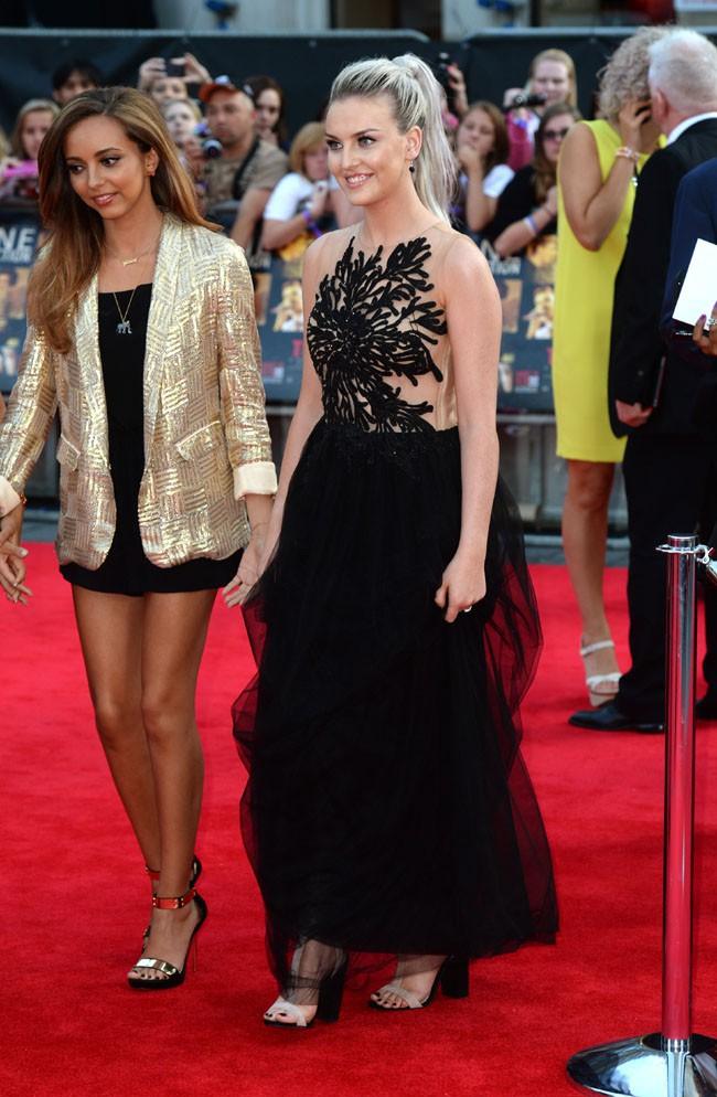 """Perrie Edwards à l'avant-première de """"1D : This is us"""" à Londres le 20 août 2013"""