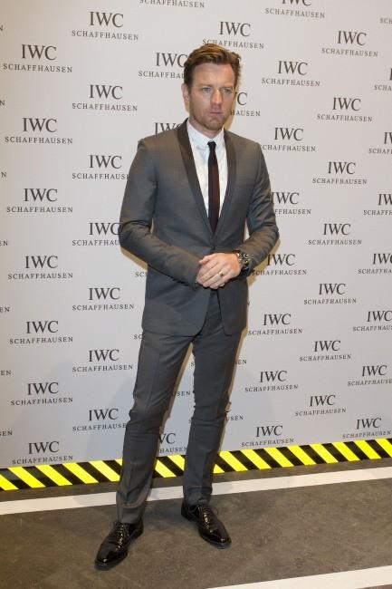 Ewan McGregor lors de la soirée IWC Schaffhausen Top Gun Gala à Genève, le 17 janvier 2012.