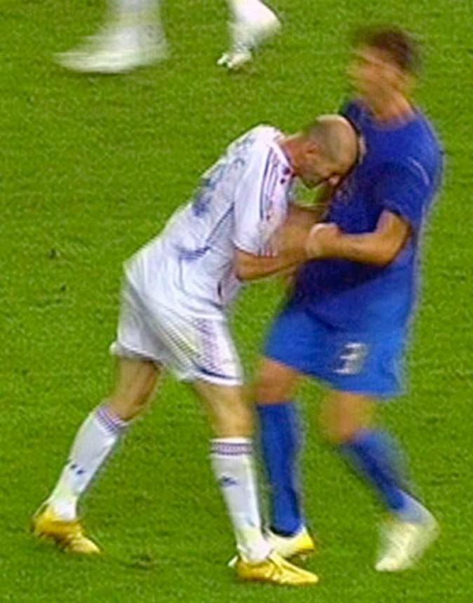 Son coup de boule sur Marco Materazzi (2006)