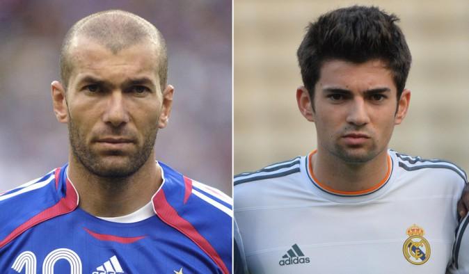 Zinedine Zidane et son fils Enzo Zidane