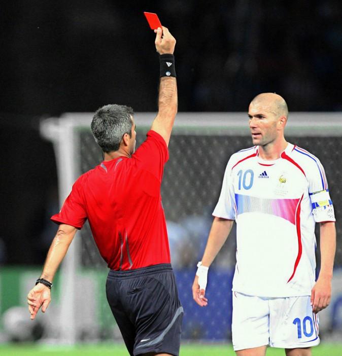 Zinedine Zidane, exclu en finale de la Coupe du monde 2006
