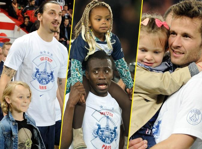 Zlatan Ibrahimovic, Blaise Matuidi, Yohan Cabaye : le PSG champion, une grande célébration en famille !