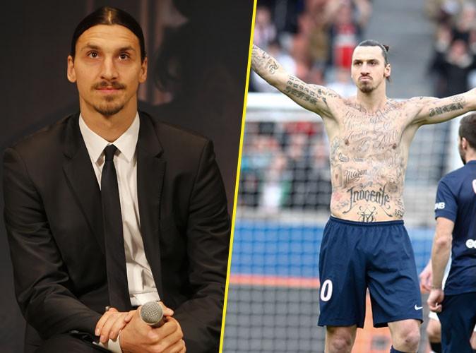 Zlatan Ibrahimovic : touchant comme jamais avec ses tatouages qui ont tant fait parler... !