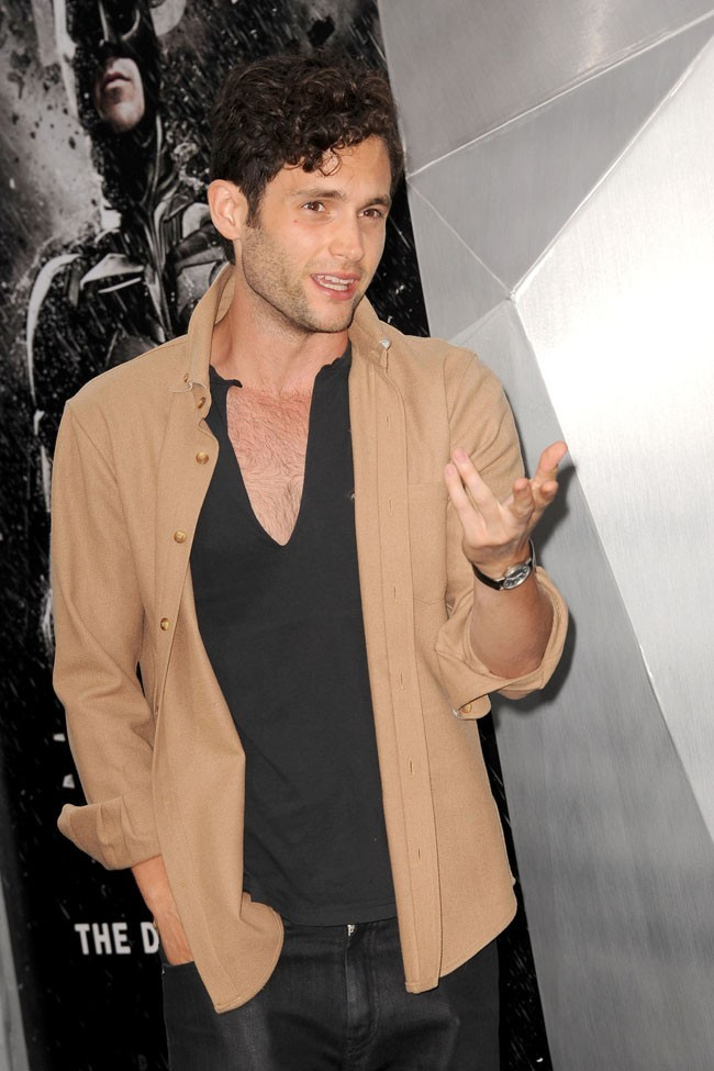 Penn Badgley le 16 juillet 2012 à New York