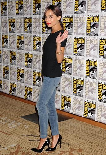Zoe Kravitz à San Diego le 18 juillet 2013