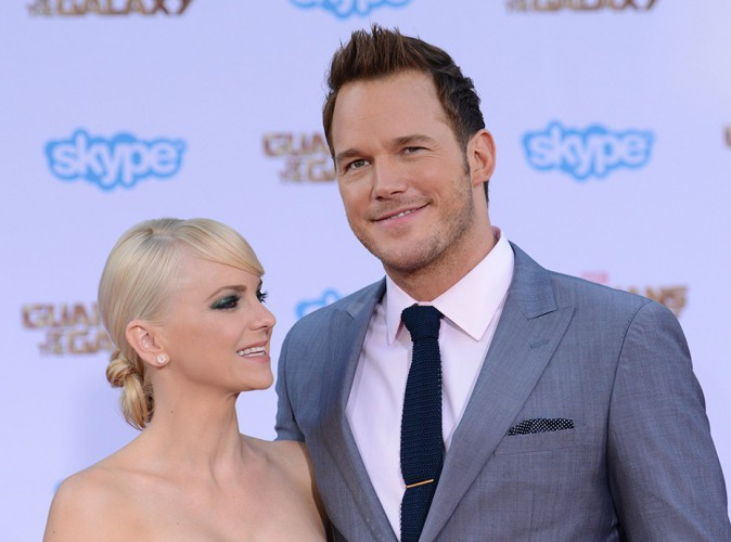 Anna Faris et Chris Pratt à Los Angeles le 21 juillet 2014