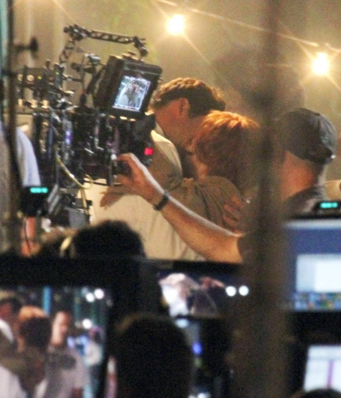 Zooey Deschanel sur le tournage de New Girl à Los Angeles le 20 septembre 2012