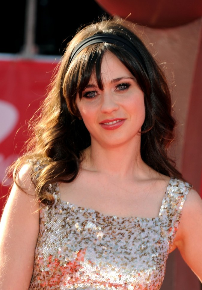 Zooey Deschanel le 11 juillet 2012 à Los Angeles