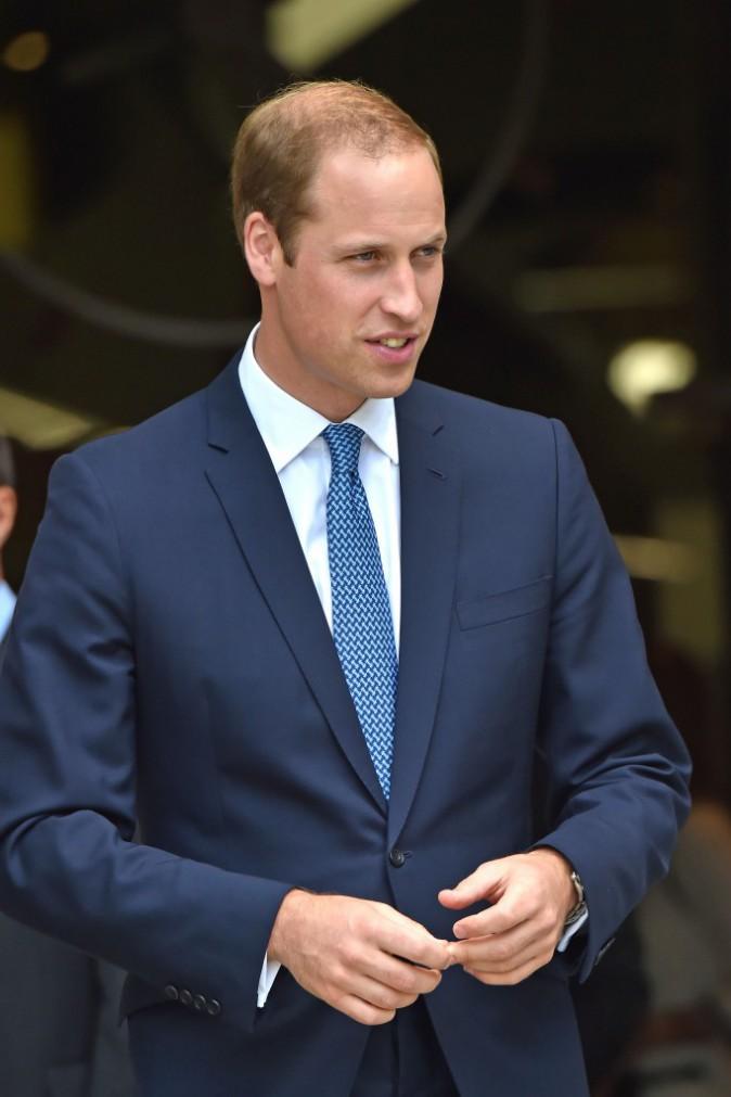 """Photos : Prince William : """"George va bientôt courir plus vite que moi !"""""""