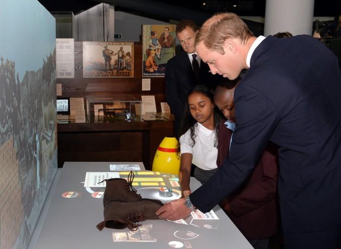 """Prince William : """"George va bientôt courir plus vite que moi !"""""""