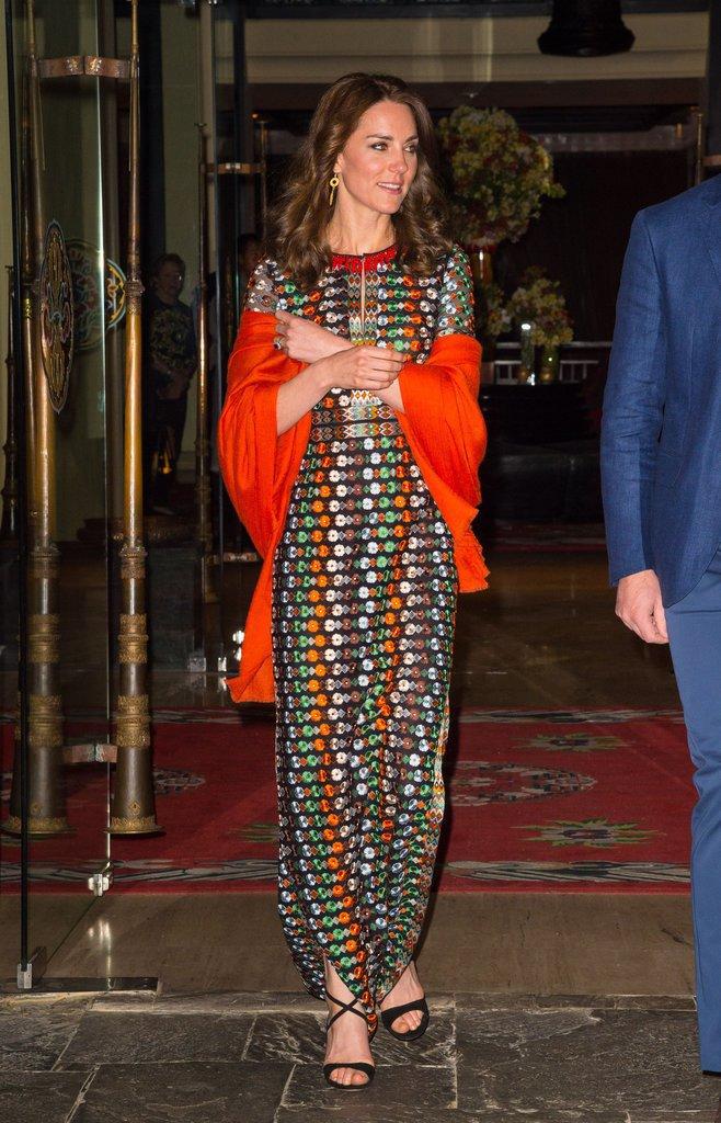 Photos : Princesse Kate au Bhoutan : orange is the new black !