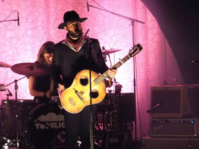 Yodelice en concert à la Cigale, à Paris, le 21 janvier 2014