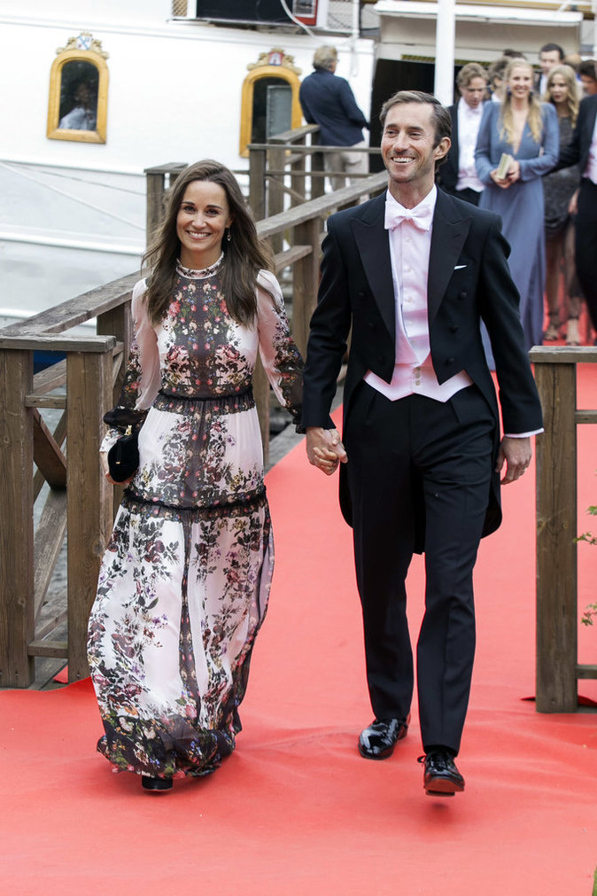 Public Royalty Apr 232 S Son Mariage Pippa Middleton Rompt