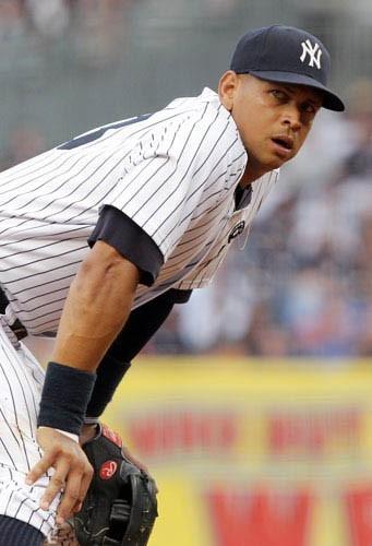 Alex Rodriguez, star du baseball américain