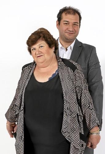 Frédéric et sa maman