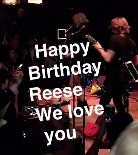 Reese Witherspoon s'est éclatée pour ses 40 ans