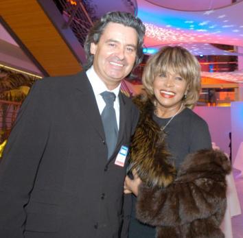 Tina Turner et Erwin Bach