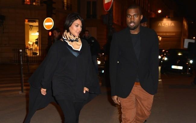 Kanye West rêve de s'installer à Paris... Kim, un peu moins !