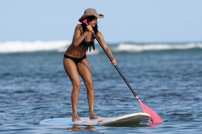 Rihanna à Hawaï, le 28 avril 2012.
