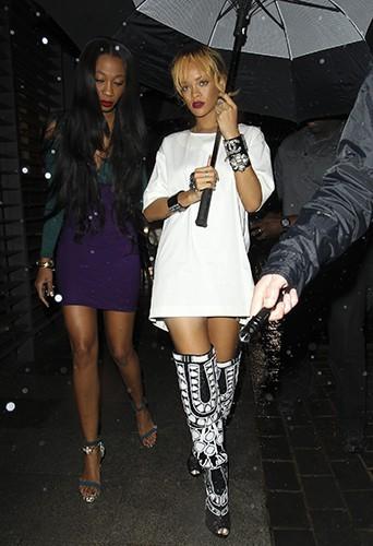 Rihanna à Londres le 14 juin 2013