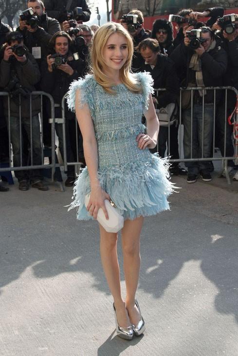 Fashionista, elle n'a pas manqué la dernière Fashion Week parisienne ...