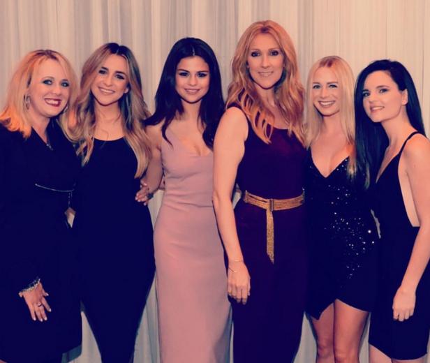 Selena Gomez et ses BFF ont passé du temps avec Céline Dion