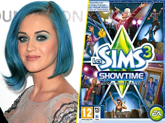 Katy Perry, on lui conseille les SIMS 3 !