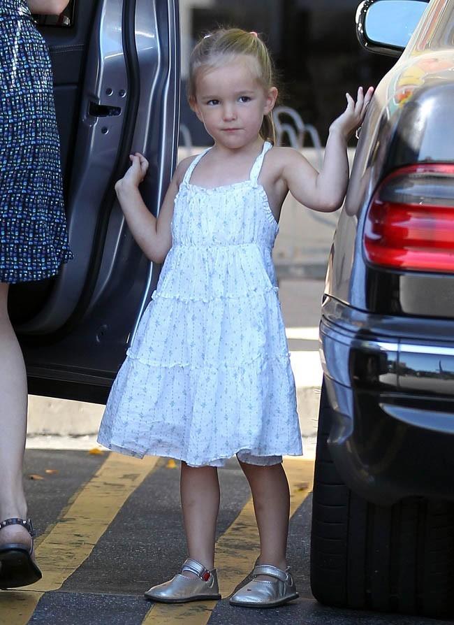 Seraphina Affleck le 26 août 2012 à Los Angeles