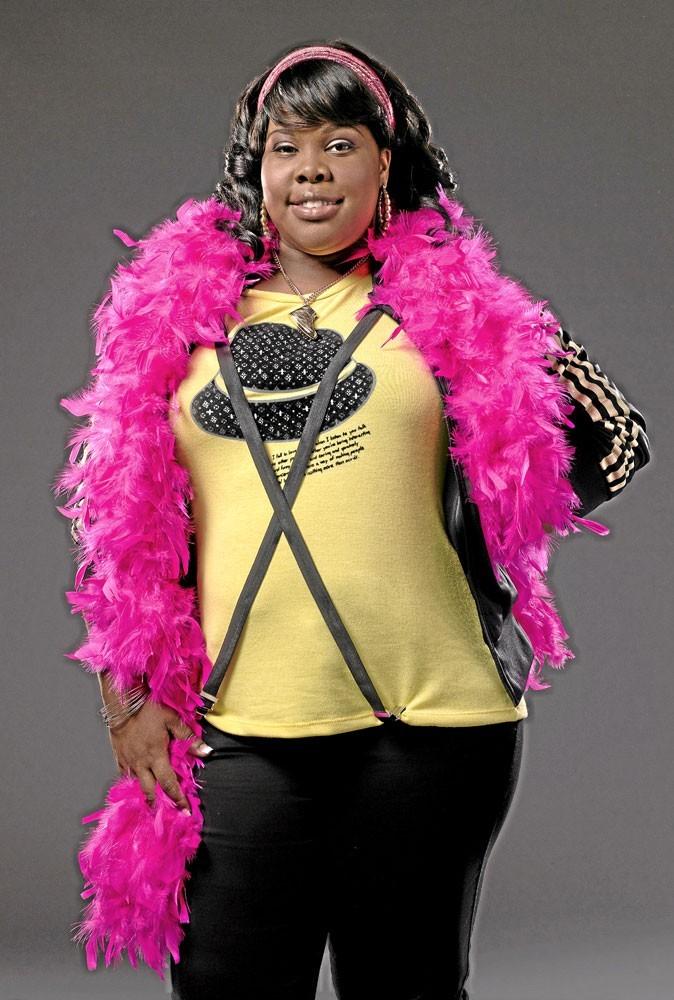 Série : Glee : Amber Riley est une star pour son président !