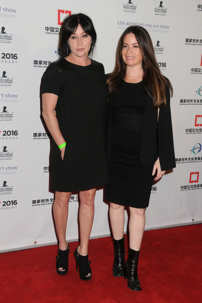 Shannen Doherty et Holly Marie Combs ne sont pas passées inaperçues aux LA Art Show !