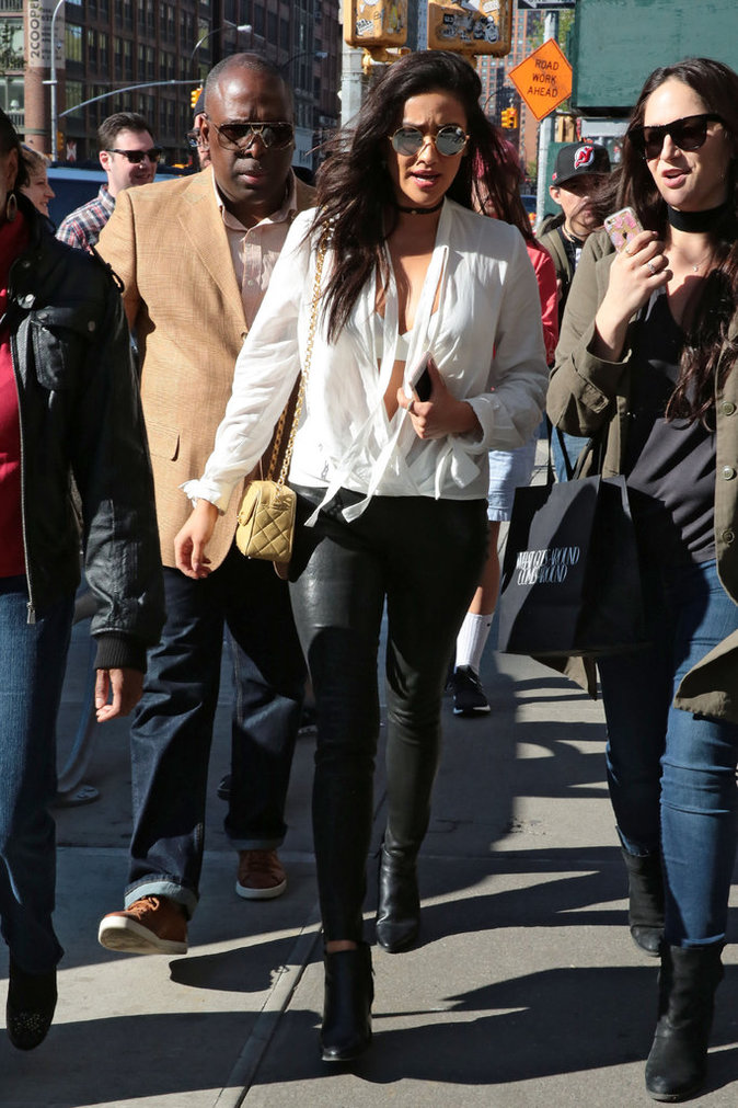 Shay Mitchell à New York