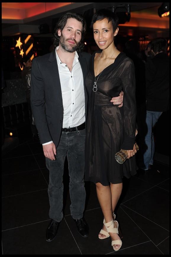 Sonia Rolland et Jalil Lespert au club L'Arc à Paris, le 21 mars 2011.