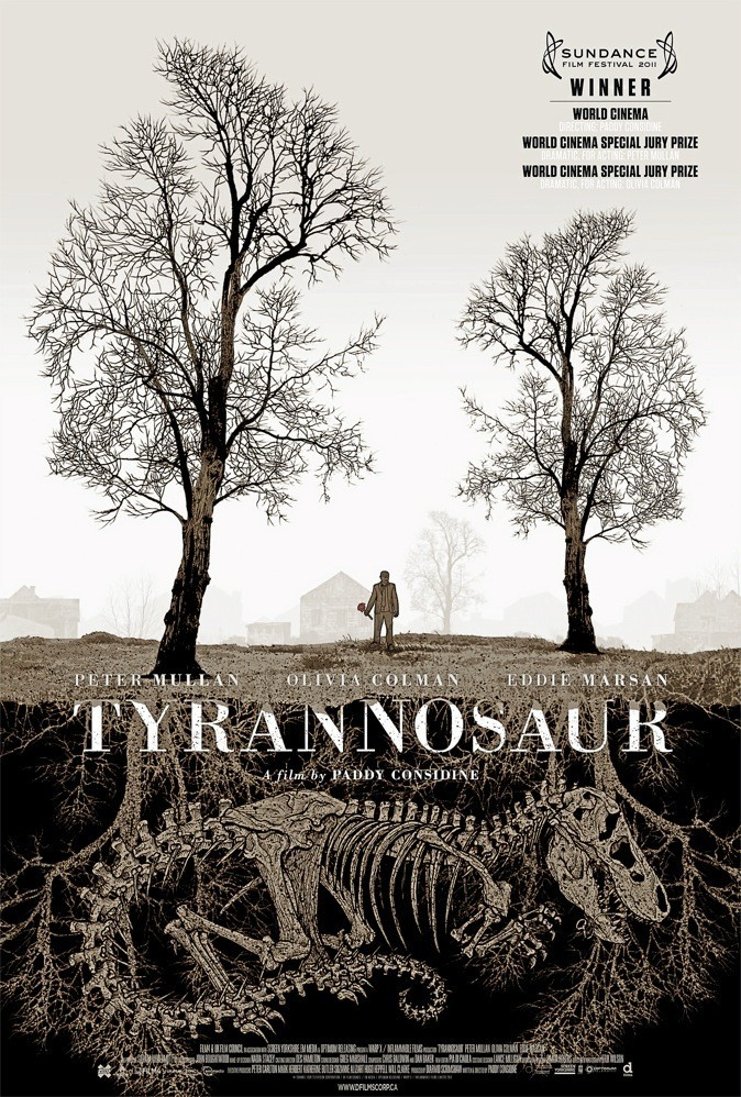 "L'affiche du film ""Tyrannosaur"" !"