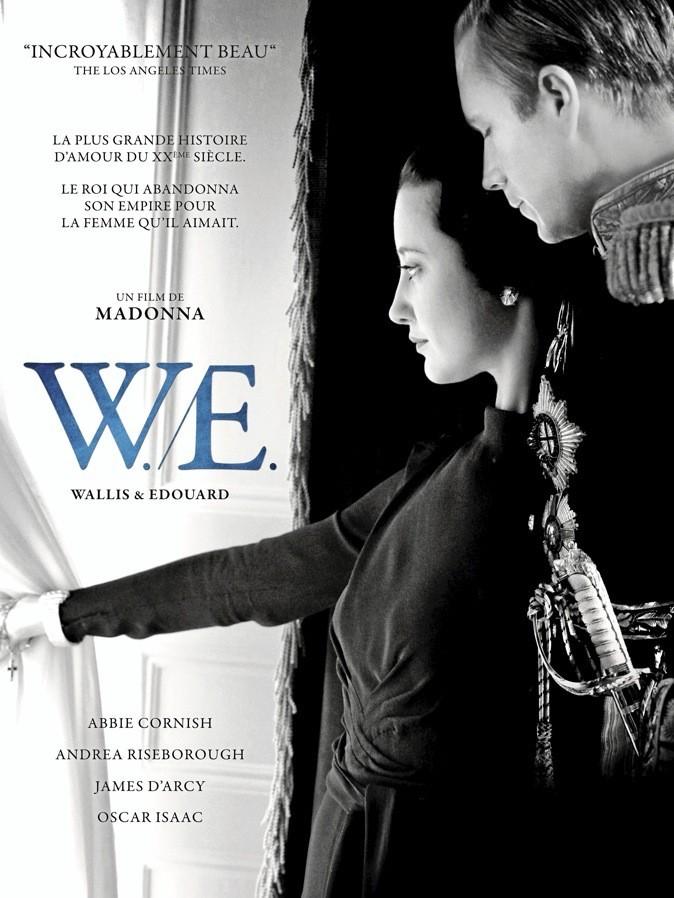"""L'affiche du film """"W.E"""" de Madonna !"""