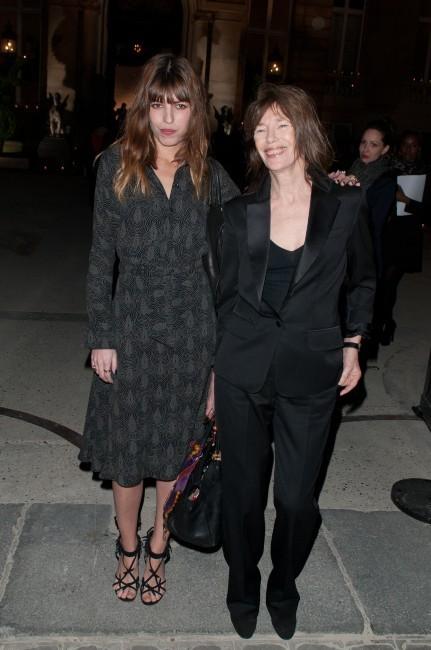 Jane Birkin et sa fille