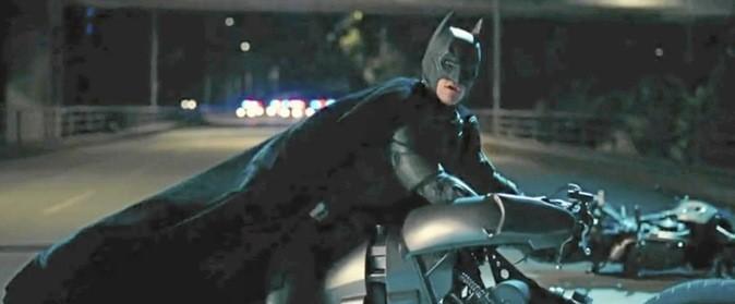 Les cascades de Batman !