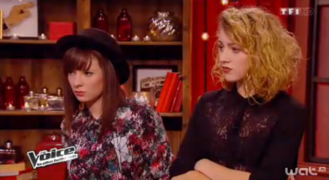 La brune Natacha Andreani et la blonde Cloé