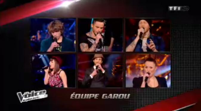 Les six talents de Garou qualifiés pour les shows en direct