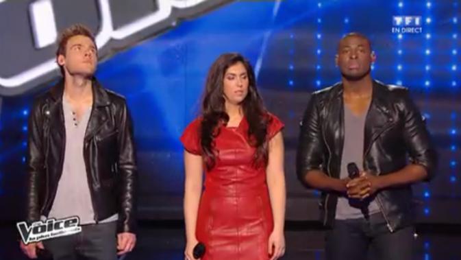 Le public choisit Charlie et Florent Pagny Wesley ! Claudia quitte The Voice !