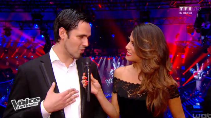Karine Ferri et Yoann Fréget, le vainqueur de la saison 2