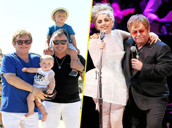 Lady Gaga, marraine des deux fils d'Elton John