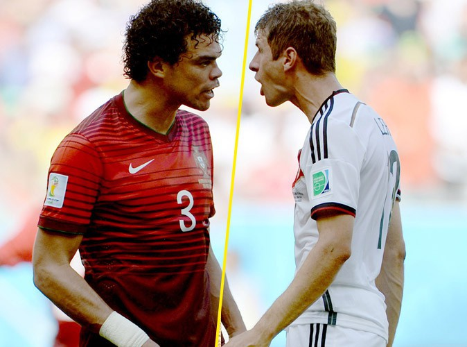Pepe VS Thomas Muller