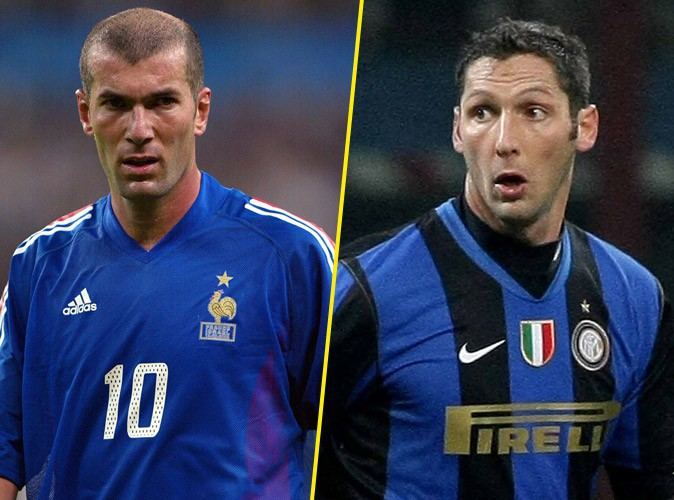 Zinedine Zidane VS Marco Materazzi