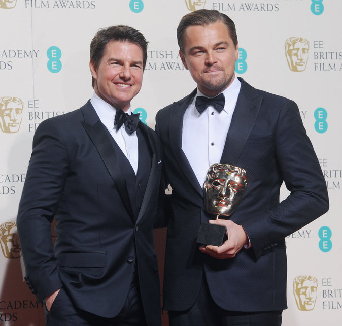 Tom Cruise et Leonardo Dicaprio, deux acteurs talentueux sur scène !