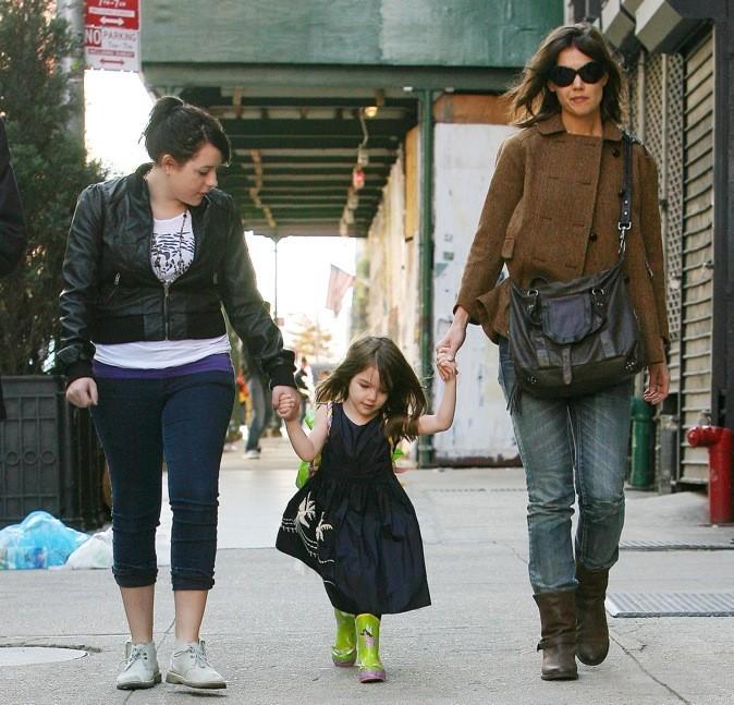 Katie Holmes, Suri et Isabella font du shopping !