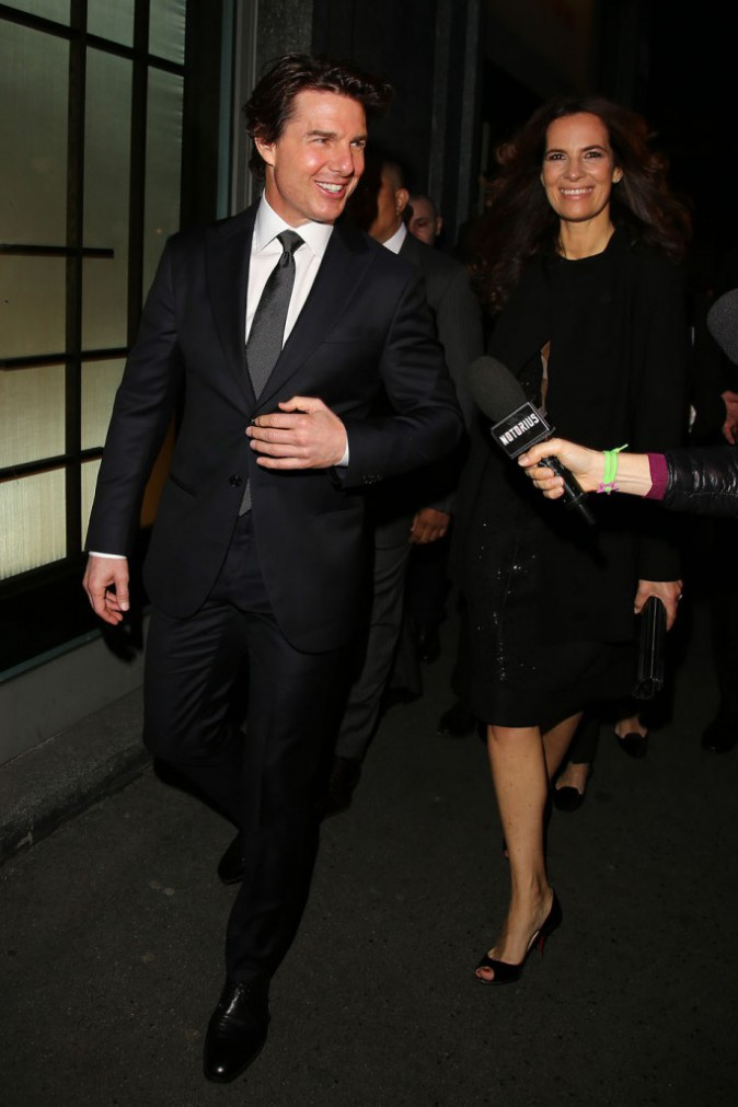 Tom Cruise et Roberta Armani à Milan